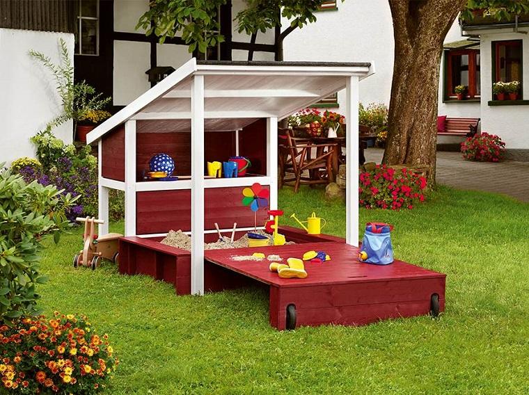 Giochi da giardino per bambini idee green u design per la casa