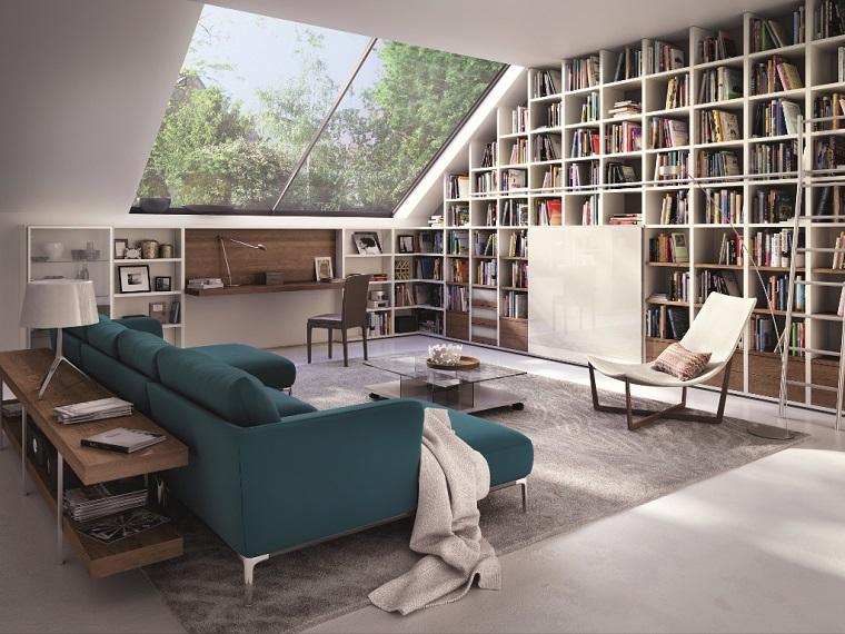 Si possono creare sia librerie moderne che. Librerie In Cartongesso Input Originali E Di Design Per Libri E Suppellettili Archzine It