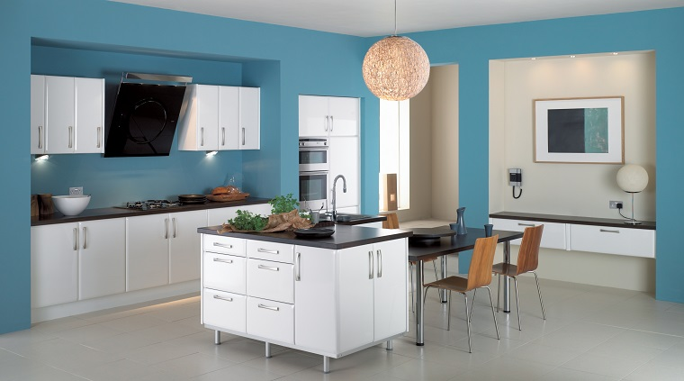 100 idee su come arredare una cucina moderna bianca! Colori Pareti Cucina 24 Abbinamenti Veramente Originali Archzine It