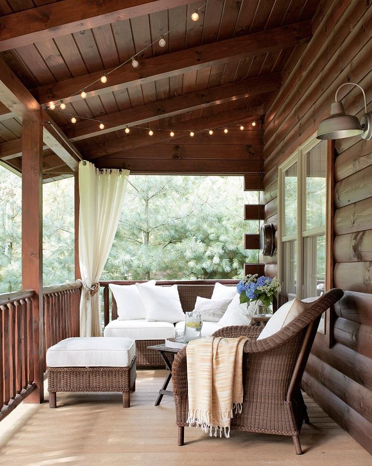 Come arredare una veranda soluzioni per un arredo esterno