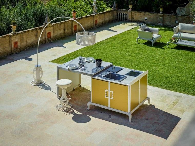 Cucine da esterno soluzioni tecnologiche e dal design