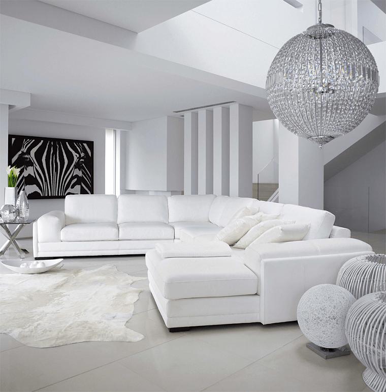 Mobili bianchi per il soggiorno ecco come creare un ambiente elegante  Archzineit