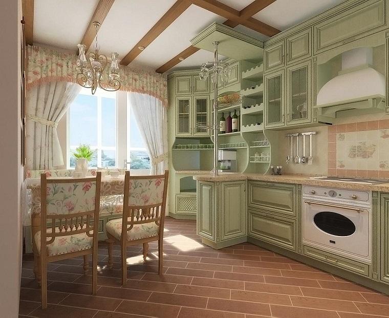 Cucina Stile Francese - Idee di decorazione per interni domestici ...