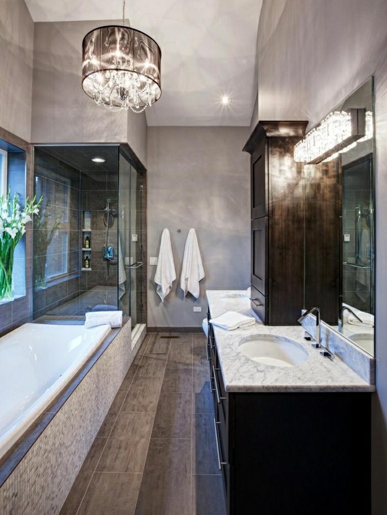 Vasca da bagno con doccia  24 idee da togliere il fiato  Archzineit