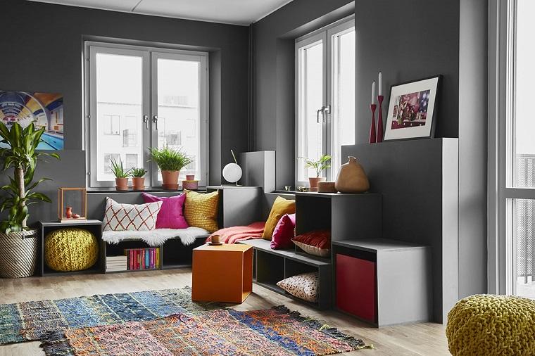 Colori pareti soggiorno suggerimenti per scegliere la tonalit perfetta  Archzineit