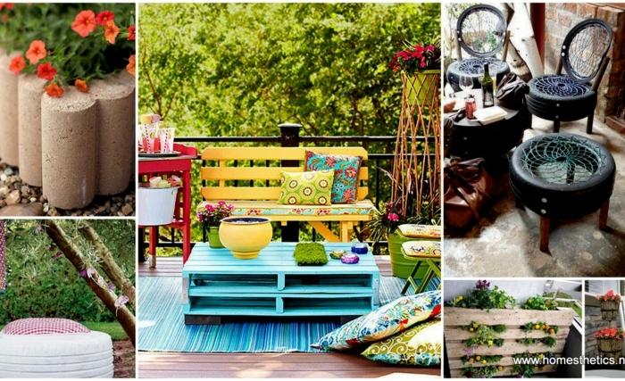 Creare spazi accoglienti e confortevoli è indispensabile per godersi l'ambiente esterno della casa, che si tratti di un giardino o di un'ampia terrazza. Arredo Giardino Fai Da Te Ecco 30 Idee Molto Originali Archzine It