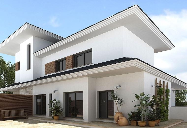 Pittura Esterno Casa Colori OV69  Pineglen