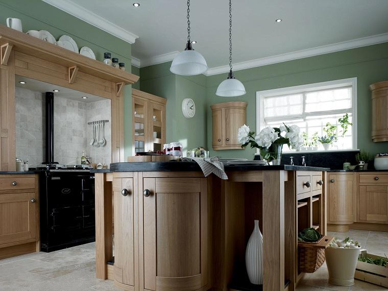 Splendide idee per una cucina dai colori scuri. Pittura Pareti Cucina Tante Idee Colorate E All Ultima Moda Archzine It