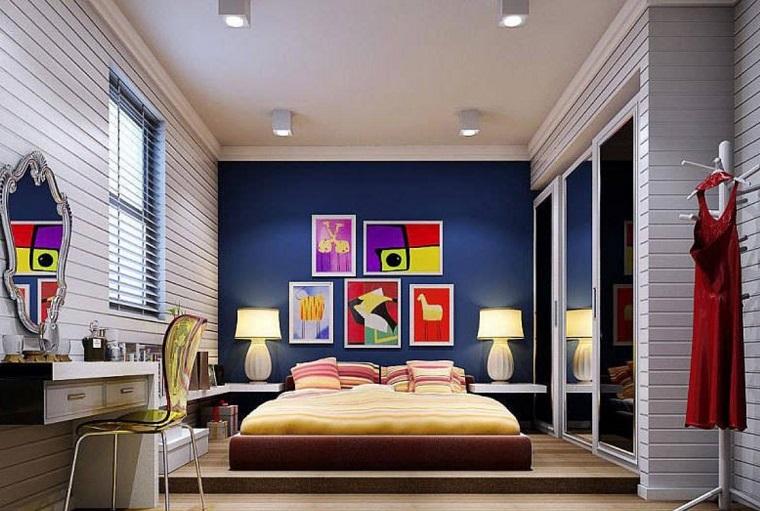 Visualizza altre idee su dipingere pareti camera da letto, camera da letto, colori pareti. Pareti Colorate Camera Da Letto Ad Ogni Colore Uno Stato D Animo Archzine It