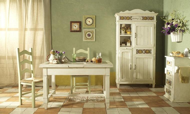 Pittura pareti cucina tante idee colorate e allultima