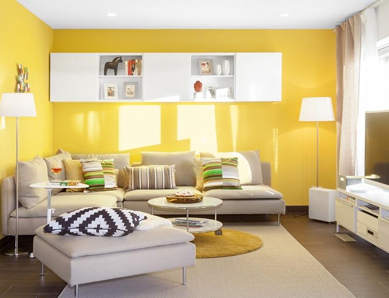 Colore pareti soggiorno 10 idee di tendenza per un look