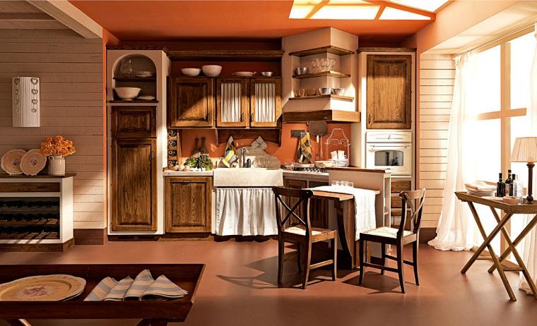Cucine stile rustico il sapore dei tempi antichi in casa