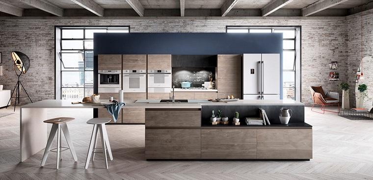 Linee essenziali, volumi geometrici, composizioni pulite e proporzionate, le cucine in stile moderno sono fatte così. Cucine Stile Industriale Dieci Composizioni Fra Il Moderno E Il Vintage Archzine It