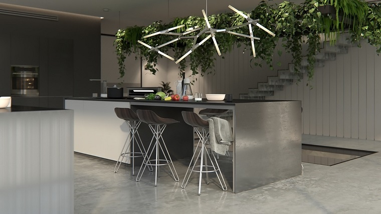 42 modern dining room sets: Lampadari Cucina Proposte Di Design Per Valorizzare L Ambiente Archzine It