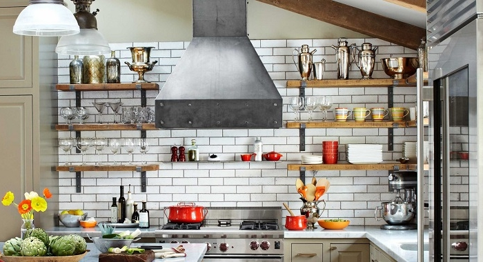 Stunning Mensole In Cucina Foto Gallery  Home Interior