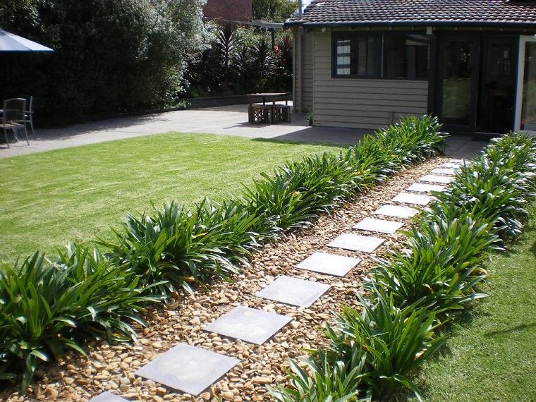 Come Costruire Un Giardino Di Ghiaia : Vialetto ghiaia giardino guida giardino u design per la casa