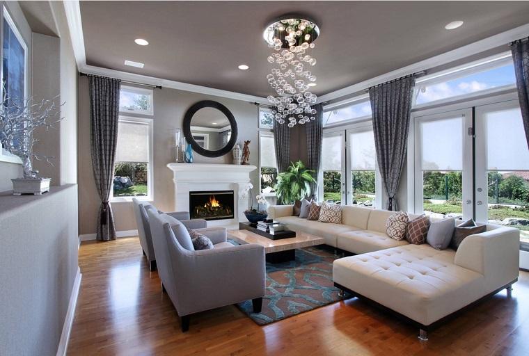 La scelta di tende moderne per il soggiorno può essere decisiva nell'atmosfera di questa stanza. Tende Soggiorno 25 Idee Per Valorizzare La Zona Living Archzine It