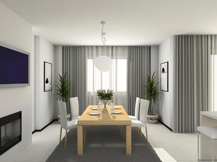 Tende soggiorno 25 idee per valorizzare la zona living  Archzineit