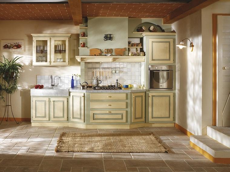 Cucina in muratura solidit tradizione e atmosfere