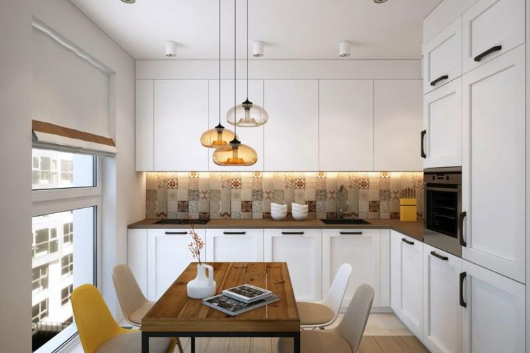 Cucina Piccola Angolare - Idee per la progettazione di ...