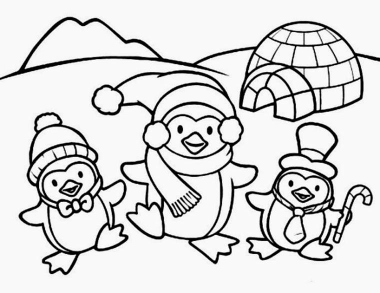 Disegni Di Natale Kawaii.Disegni Belli Di Natale