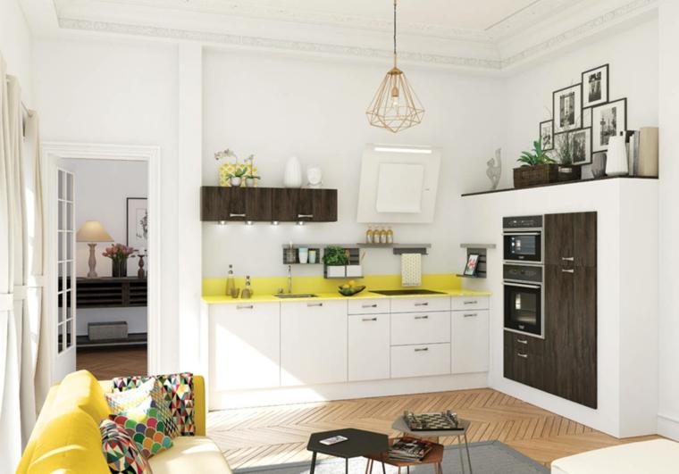 Idee Cucine Moderne Piccole Cool Idee Per Cucine Piccole