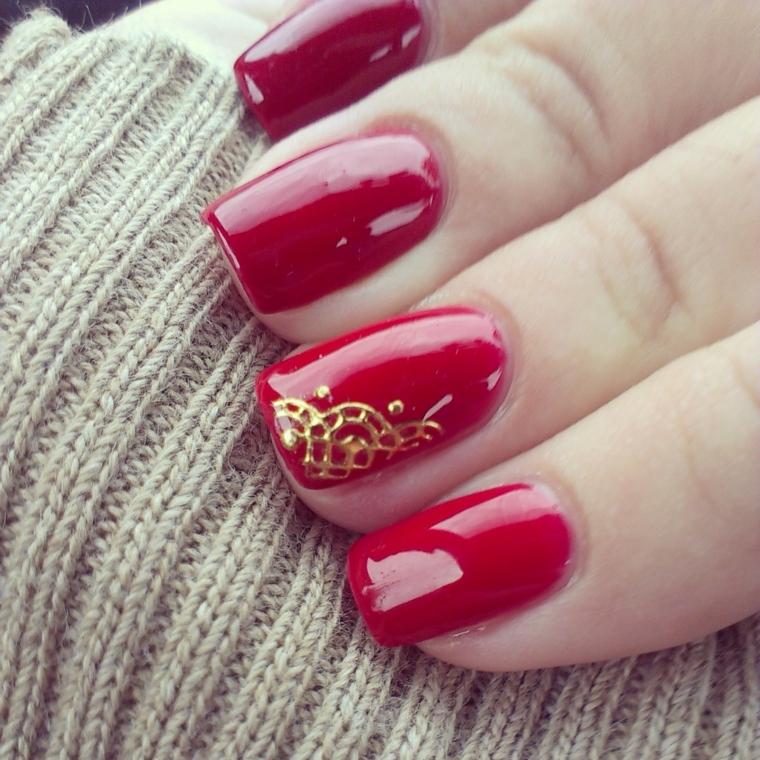 1001 idee per unghie rosse da sfoggiare lultimo giorno