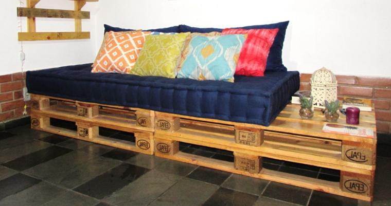 1001  idee per divani con bancali per interni ed esterni