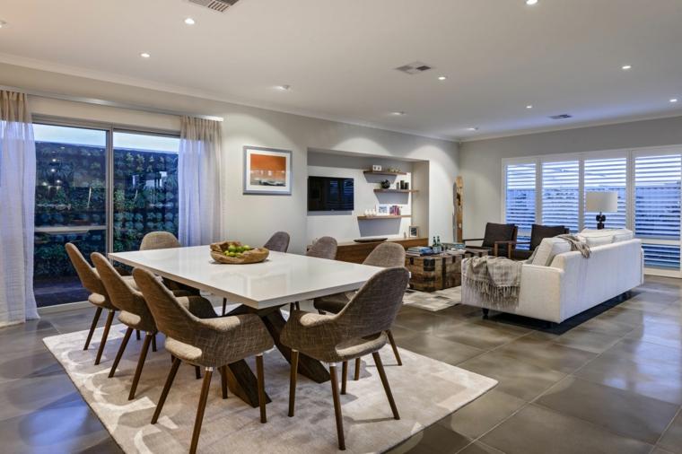 1001  idee per arredare salotto e sala da pranzo insieme con stile e funzionalit