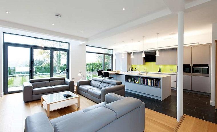 idee per separare soggiorno e cucina 5977. 1001 Idee Per Cucina Soggiorno Open Space Idee Di Arredamento