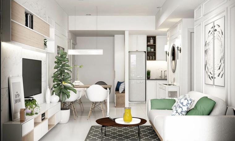 1001  idee per arredare salotto e sala da pranzo insieme