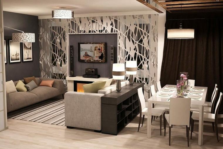 Tavoli e sedie per arredare la sala da pranzo. 1001 Idee Per Arredare Salotto E Sala Da Pranzo Insieme Con Stile E Funzionalita