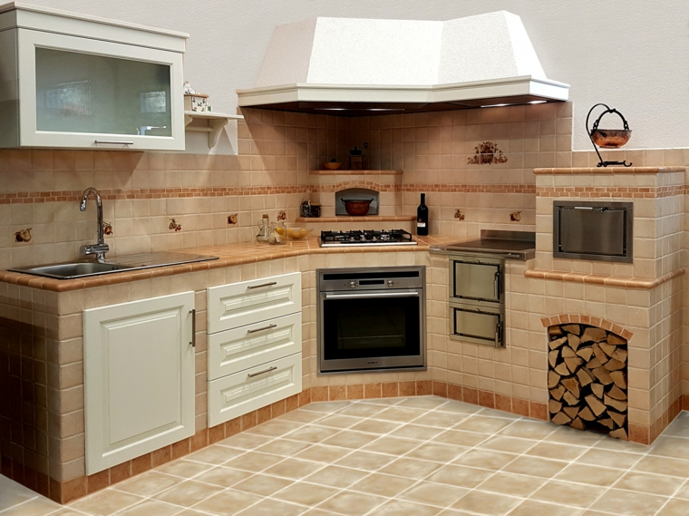 1001  idee per cucine in muratura funzionali e accoglienti