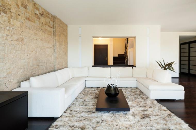 Il rivestimento muro in gres porcellanato di novoceram è un mix equilibrato di innovazione, creatività e tradizione. 1001 Idee Per Pareti In Pietra In Tutti Gli Ambienti Interni