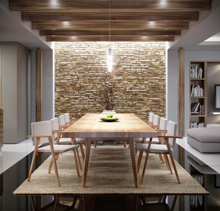 1001  idee per pareti in pietra in tutti gli ambienti interni