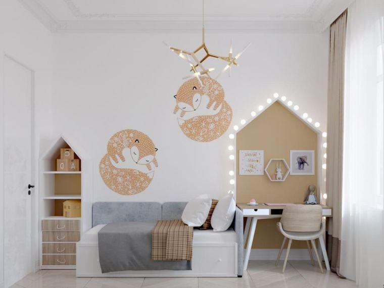 Camera da letto per ragazza: 1001 Idee Per Camere Da Letto Per Ragazze Arredo In Base All Eta