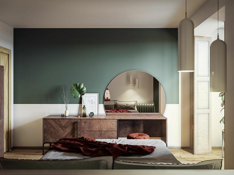 Sfumature garbate e rasserenanti, le tonalità pastello vestono la camera da letto in maniera tutt'altro che banale · 1. 1001 Idee Per Dipingere La Camera Da Letto Di Due Colori
