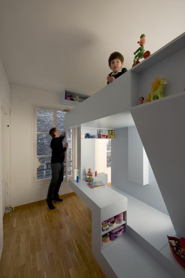 Bett Design 24 Super Ideen fr Kinderzimmer Innenarchitektur  Archzinenet