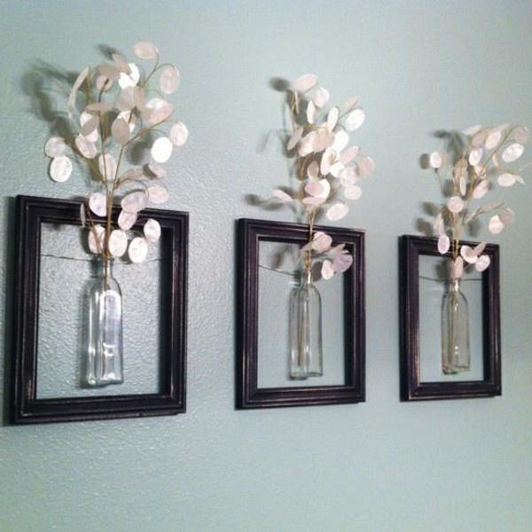 design deko ideen selbermachen wohnzimmer wanddekoration ... - Deko Ideen Selbermachen Wohnzimmer
