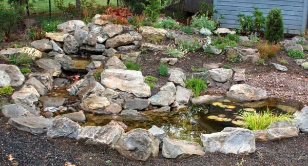 53 erstaunliche Bilder von Gartengestaltung mit Steinen  Archzinenet