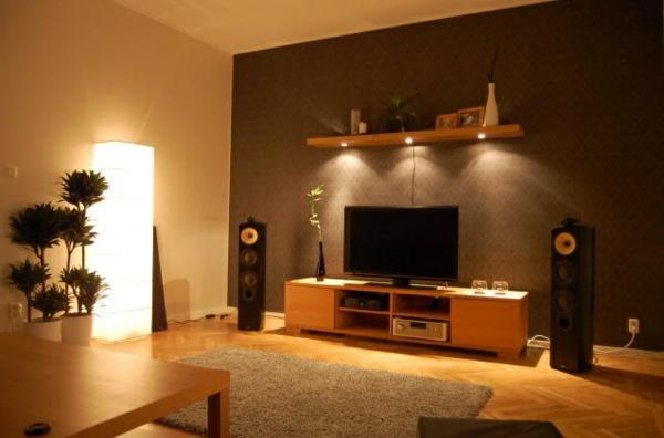wohnzimmer deko orange wohnzimmer orange braun ideen fr ... - Wohnzimmer Deko Orange