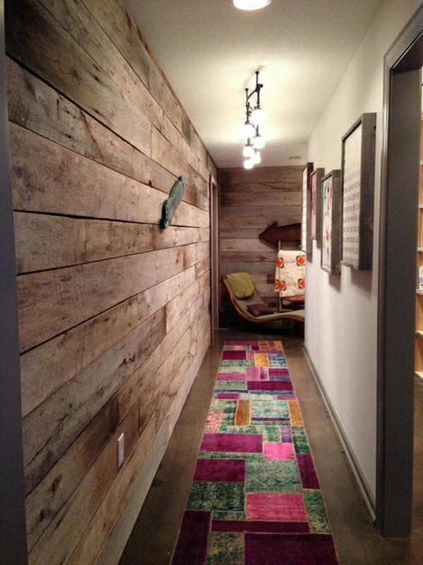 Schaffen Sie eine gemtliche Atmosphre im Zimmer  Holzwand Ideen  Archzinenet