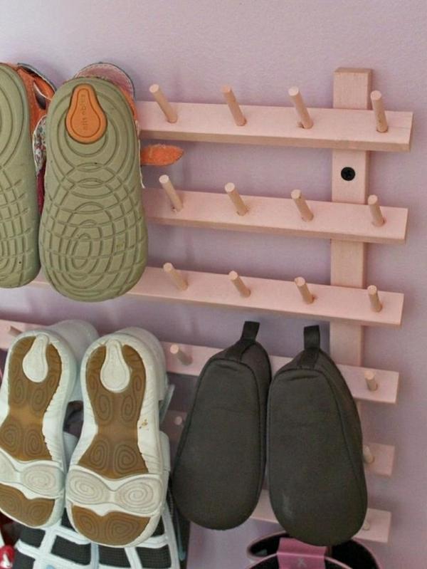 Selbermachen  35 coole Schuhaufbewahrung Ideen  Archzinenet