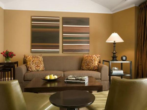 wohnzimmer wandgestaltung mit farbe » terrasse en bois - Moderne Wandgestaltung Fur Wohnzimmer