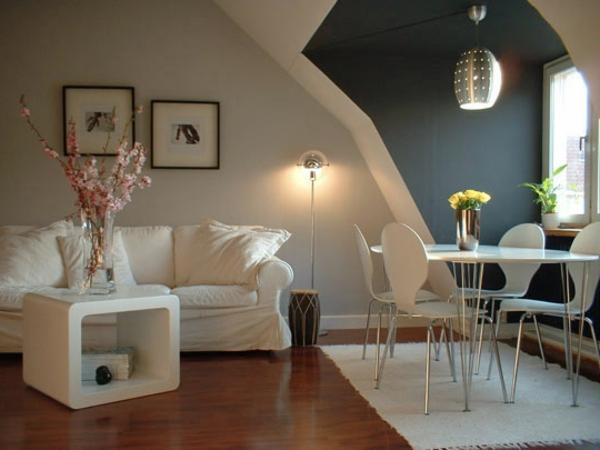 Best Wohnzimmer Blau Wei Grau Pictures Interior Design Ideas