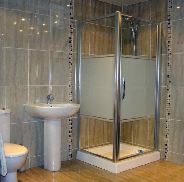 Fliesenhöhe Dusche  Eckventil Waschmaschine