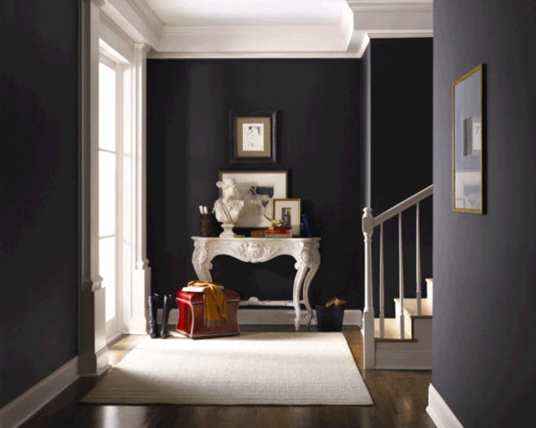 farbgestaltung flur treppenhaus - boisholz - Flur Farbgestaltung