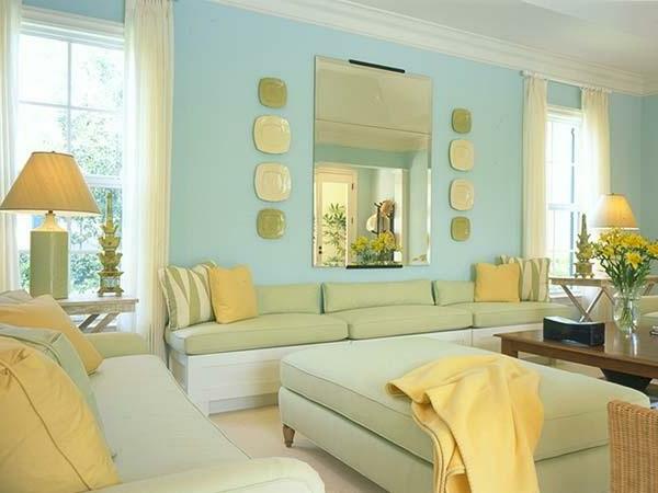 Wohnzimmer Gestalten Gelb