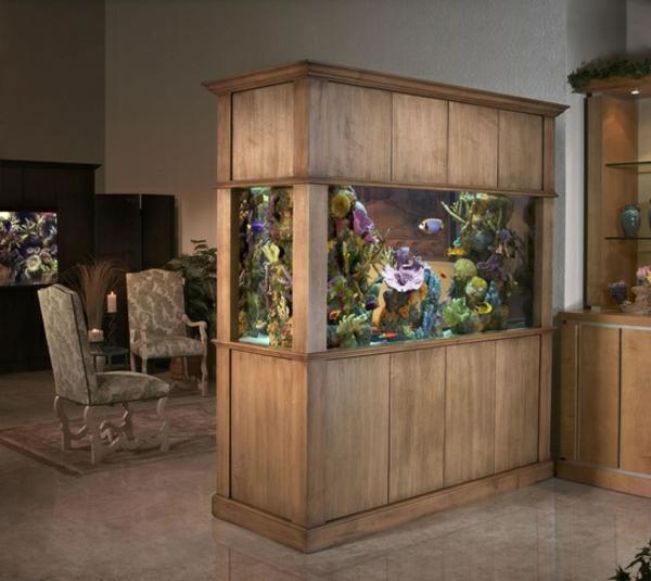 Aquarium Schrank  schaffen Sie eine exotische Atmosphre