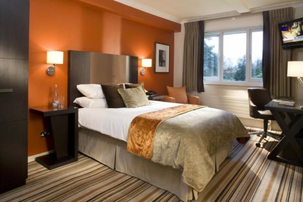 Warme Wandfarben  genieen Sie eine gemtliche Atmosphre zu Hause  Archzinenet